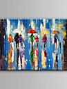 Pictat manual Abstract Orizontal, Abstract pânză Hang-pictate pictură în ulei Pagina de decorare Un Panou