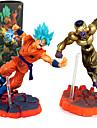 Las figuras de accion del anime Inspirado por Bola de Dragon Son Goku CLORURO DE POLIVINILO 12 cm CM Juegos de construccion muneca de juguete