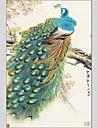 Pictat manual Animal Abstract Un Panou Canava Hang-pictate pictură în ulei For Pagina de decorare