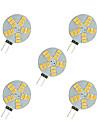 2.5W G4 Becuri LED Bi-pin 15 led-uri SMD 5630 Alb Cald Alb 220lm 3000-3500/6000-6500K DC 12V