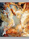 Pictat manual Oameni Pătrat, Calitate superioară pânză Hang-pictate pictură în ulei Pagina de decorare Un Panou