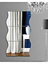 Forme Abstract #D Perete Postituri Autocolante perete plane 3D Acțibilduri de Perete Acțibilduri de Oglindă Autocolante de Perete