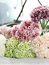 1 st. 1 Gren Silke Polyester Pioner Bordsblomma Konstgjorda blommor