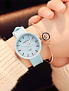 Women\'s Wrist Watch Quartz Silicone Black / White / Green Casual Watch Analog Ladies Candy color Casual Fashion Elegant - Pink Light Blue Light Green One Year Battery Life / SSUO 377