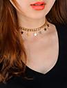 Pentru femei Coliere Choker Coliere cu Pandativ Star Shape Articole de ceramică La modă Personalizat Euramerican Bijuterii PentruZilnic