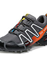 Erkek Ayakkabı Suni Deri Sonbahar / Kış Atletik Ayakkabılar Dağ Yürüyüşü Atletik / Günlük / Dış mekan için Malzeme Kombini Siyah / Gri / Mavi