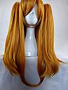 Perruques de Deguisement / Perruque Synthetique Droit Avec queue de cheval Tresses Africaines / Perruque tressee Blond Femme Sans bonnet