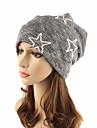 Pentru femei Dungi Culoare pură Veșminte de cap Draguț Șic & Modern Îmbrăcăminte tricotată, Bumbac - Beanie / Slouchy Floppy
