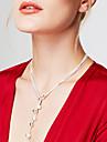 Pentru femei Lănțișoare Y-Coliere Y în formă Minge Plastic La modă Lung Personalizat costum de bijuterii Bijuterii Pentru Petrecere