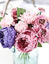 1 ramură Mătase Poliester Bujori Față de masă flori Flori artificiale