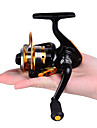 Carrete de la pesca / Carrete para pesca en hielo Carretes para pesca spinning / Carrete para pesca en hielo 5.2:1 Relacion de transmision+10 Rodamientos de bolas Orientacion de las manos