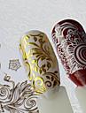 1 Nail Art-klistermärken Mönster Gör-det-själv-produkter Klistermärke makeup Kosmetisk Nail Art-design