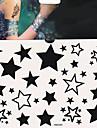 1 Tatueringsklistermärken Annat Ogiftig Ländrygg VattentätDam Herr Vuxen Tonåring Blixttatuering tillfälliga tatueringar
