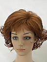 Synthetic Wig Curly Brown Black Capless Natural Wigs Short Synthetic Hair