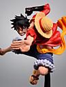 Anime Toimintahahmot Innoittamana One Piece Monkey D. Luffy PVC CM Malli lelut Doll Toy Miesten Naisten
