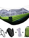 Campinghammock med myggnät Utomhus Ihopfällbar, Anti-mygg Nylon för Camping / Camping / Vandring / Grottkrypning / Utomhus - 1