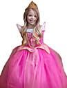 Prinsesse Cosplay Kostumer Barne Jul Barnas Dag Nytt AAr Festival / hoeytid polyester Rose Karneval Kostumer Skinnende Glitter Blonder