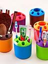 Suporturi de Perie de Dinți,Plastic Spațiul de lucru Organizator