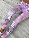 Pentru femei - Dungi, Imprimeu Talie Înaltă Imprimeu Legging