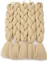 Crochet 100% cheveux kanekalon 100% cheveux kanekalon 1 piece Tresses Jumbo Cheveux Tressee Long