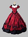 Asistent / vrăjitoare Prințesă Regină Costume Cosplay Halloween Crăciun Carnaval An Nou Festival/Sărbătoare Costume de Halloween Roșu