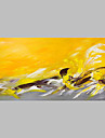 Pictat manual Abstract Artistic Abstract Exterior Un Panou Canava Hang-pictate pictură în ulei For Pagina de decorare
