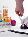 kökslökskivare snitt lök hållare gaffel tomat grönsaksskivor skärhjälp guide hållare fruktskärare