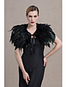 Feather / Fur Wedding Party / Evening Women\'s Wrap Capelets