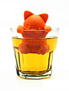 dessin anime chat the tamis silicone infuseur the mignon orange chaton the outils