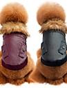 Chien Manteaux Vetements pour Chien Decontracte / Quotidien Sportif Mode Solide Rouge Rose Noir Costume Pour les animaux domestiques