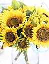 buchet real floarea-soarelui artificială floarea-soarelui din floarea-soarelui artificială 7 ramură / mănunchi