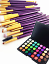 Eyeshadow Palette Eyeliner Eyebrow Matte Professional Ammonia Free Makeup Women Lady Eye Dry Matte Shimmer Long Lasting Breathability Normal # 40 Colors Cosmetic Grooming Supplies