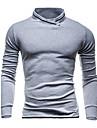 Bărbați Hanorca Simplu Activ Sport Casul/Zilnic Mată Rotund Bumbac Micro-elastic Manșon Lung Primăvara Toamnă Iarnă