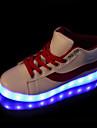 Pentru femei Pantofi PU Toamnă Iarnă Pantofi Usori Noutăți Confortabili Adidași Toc Drept Vârf rotund Dantelă pentru În aer liber Negru