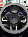 Steering Wheel Covers Leather 38cm Gray / Coffee / Black / Red For universal