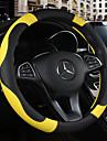 Steering Wheel Covers 38cm Burgundy / Orange / Yellow For Chevrolet Aveo / Cruze / Epica