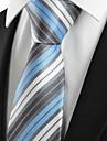 Bărbați Cu Dungi Toate Sezoanele Dungi Poliester,Cravată