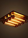 6-Light Montaj Flush Lumină Spot - Stil Minimalist, 110-120V / 220-240V, Alb Cald, Becul nu este inclus / 5-10㎡ / E26 / E27