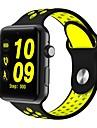 smartwatch dm09 bluetooth στρογγυλή οθόνη ζωής αδιάβροχο σπορ για το Android ios τηλέφωνα με sim κάρτα pedometer μετρητής γυμναστήριο ύπνου