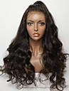 Натуральные волосы Лента спереди Парик Стрижка каскад стиль Бразильские волосы Крупные кудри Парик 130% Плотность волос с детскими волосами Природные волосы Для темнокожих женщин Необработанные Жен.