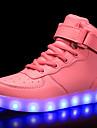 Fete Pantofi Piele Originală Materiale Personalizate Iarnă Toamnă Confortabili Pantofi Usori Adidași Plimbare Dantelă Cârlig & Buclă LED