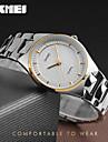 SKMEI Pentru femei Ceas de Mână Rezistent la Apă / Cool Oțel inoxidabil Bandă Charm / Lux / Casual Argint