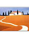 Dipinta a mano Paesaggi Panoramica orizzontale Tela Hang-Dipinto ad olio Decorazioni per la casa Un Pannello