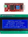 IIC / i2c serie lcd 2004 modul display för (för Arduino) (fungerar med den officiella (för Arduino) skivor)