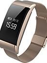 Smart Armband Pekskärm Hjärtfrekvensmonitor Vattenavvisande Brända Kalorier Stegräknare Träningslogg Distansmätning Blodtrycksmått Lång