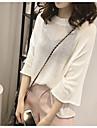 Pentru femei Mărime Plus Size Casual Blană Artificială Larg Plover - Mată, Stil Clasic
