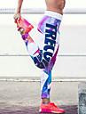 Pentru femei Bloc Culoare Imprimeu Mediu Imprimeu Legging