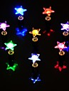 1pc led-kleur veranderende stervorm oorbellen oorstekers voor dance party