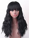 Ljudska kosa Wavy Rasprodaja Dug Machine Made Perika Žene