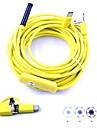 3 în 1 inspecție endoscop USB usb camera mini 10m hardwire 7mm lentilă impermeabil ip67 șarpe cam 6 condus pentru pc Android
